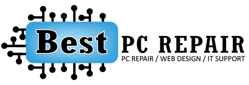 Best PC Repair Logo