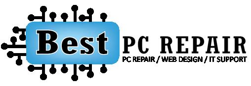 Best PC Repair Logo